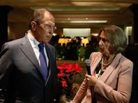 """Лавров назвал неожиданными заявления президента Хорватии о """"российской угрозе"""" на Балканах"""
