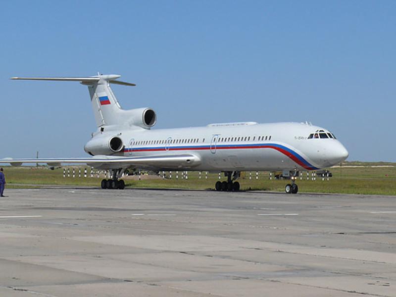 Самолет Минобороны Ту-154 упал в Черное море