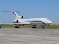 Ту-154 Минобороны упал в Черное море