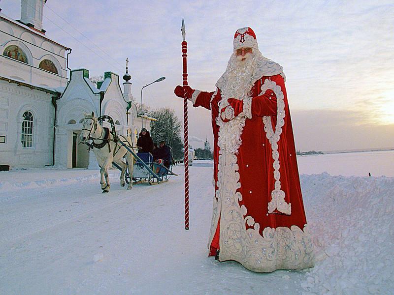 Главный Дед Мороз страны из Великого Устюга рассказал журналистам об итогах поездки в Германию на съезд зимних волшебников