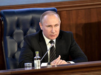 Президент Владимир Путин выразил глубокие соболезнования родственникам погибших в катастрофе Ту-154, летевшего в Сирию
