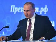 Путин в двенадцатый раз провел в Москве  большую пресс-конференцию