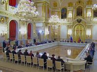 """Путин провел заседание с Советом по правам человека, обсудили НКО, """"дело Дадина"""", АУЕ и экстремизм"""