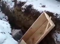 """ВИДЕО """"антикризисных"""" похорон в Кемерово с помощью экскаватора заинтересовало городские власти"""
