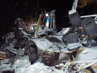 Число пострадавших при столкновении двух грузовиков, легковушки и автобуса в Ханты-Мансийском автономном округе возросло до 20 человек, погибли 10 детей и двое взрослых