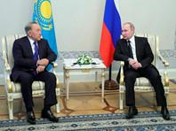Назарбаев в Петербурге поддержал мирные переговоры по Сирии в Астане