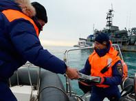 Завершены основные поисковые работы на месте крушения Ту-154 в Черном море