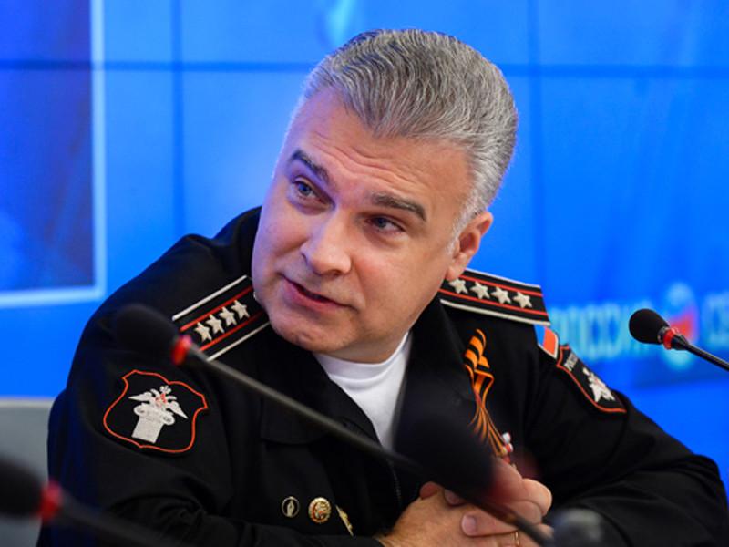 Начальник управления культуры Минобороны РФ Антон Губанков