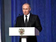 Путин поручил спецслужбам усилить безопасность