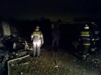 В Подмосковье три человека погибли при пожаре в бытовках