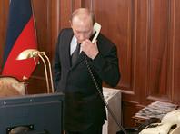 Путин обсудил по телефону с эмиром Катара сделку по