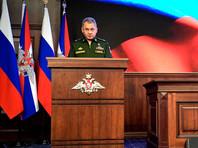 Шойгу упрекнул НАТО: вместо борьбы с террористами противостоит РФ и наращивает военный потенциал