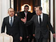 Лавров на переговорах с главой МИД Турции в Москве связал убийство посла РФ и борьбу с терроризмом