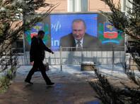 По данным опроса, проведенного 24-25 декабря, рейтинг Путина составляет 62,1%. При этом неделю назад он был на уровне 61,3%, а 10-11 декабря составлял 59,2%