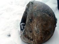 """Обломок космического корабля """"Прогресс"""", найденный в 15 км от села Эйлиг-Хем, 3 декабря 2016 года"""