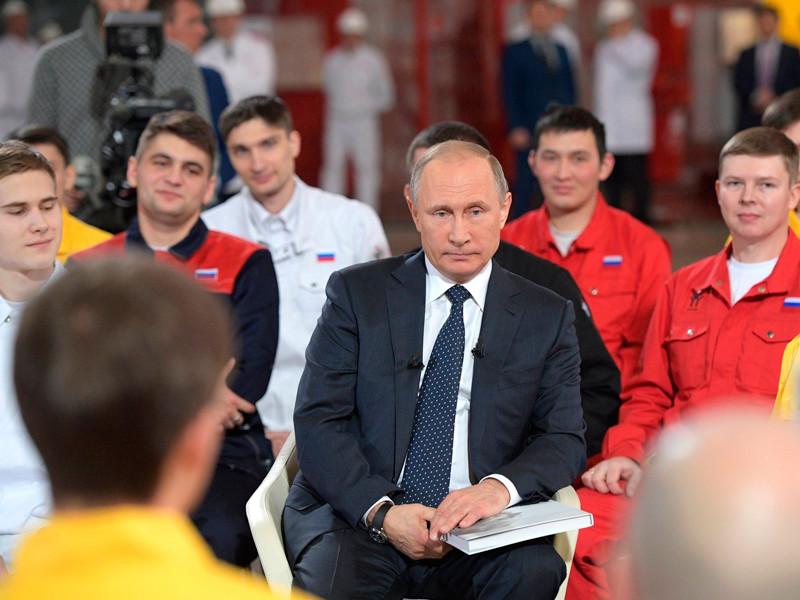 Владимир Путин, 5 декабря 2016 года
