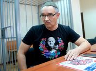 Антон Носик в Пресненском суде, 3 октября 2016 года