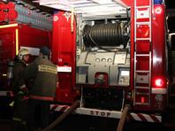 На месте ЧП работают пожарно-спасательные подразделения