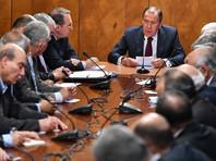 Лавров принял в Москве представителей палестинских движений