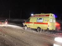 В Саратовской области минивэн попал под фуру: семь человек погибли