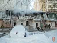 Число жертв пожара в Москве достигло трех. Возбуждено дело