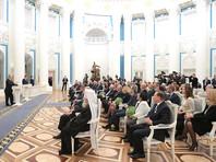 В Екатерининском зале Кремля в четверг, 26 января, президент РФ Владимир Путин вручил государственные награды и документы о присвоении почетных званий