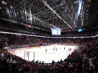 """Стадион """"ВТБ Ледовый дворец"""" во время матча чемпионата мира по хоккею, 21 мая 2016 года"""