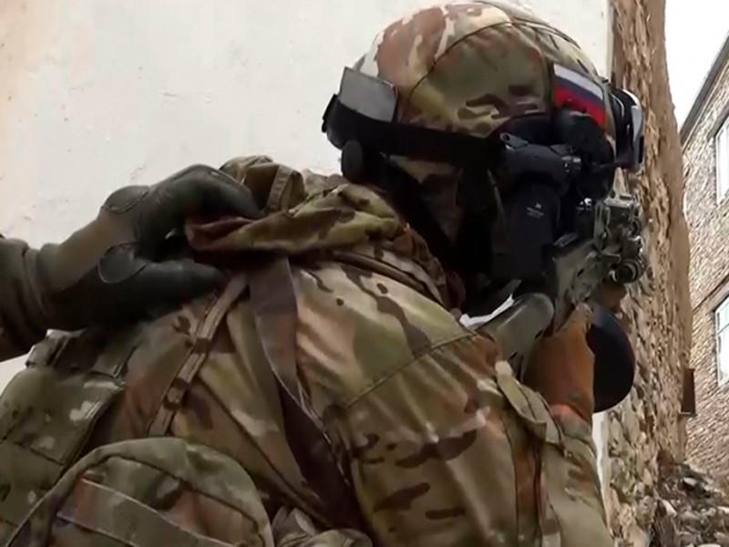 В Хасавюрте, где утром в воскресенье прошла спецоперация, убиты трое боевиков