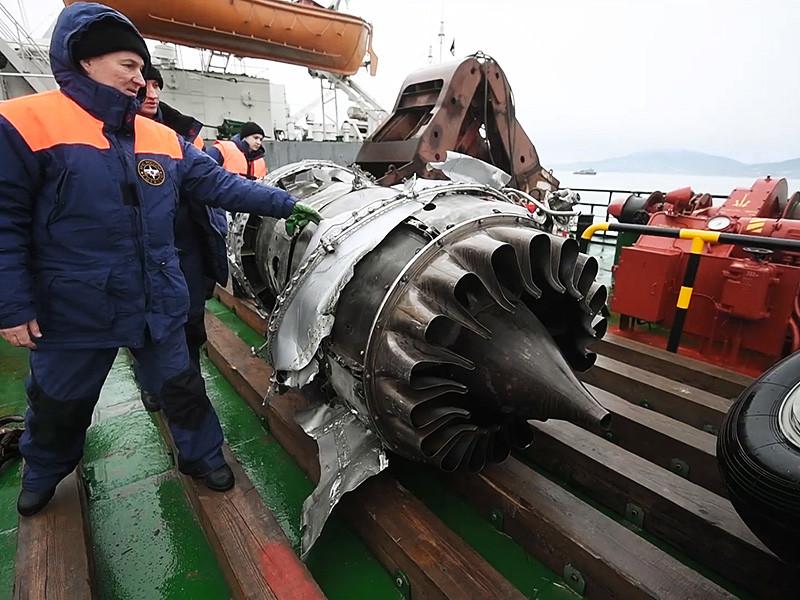 Эксперты не обнаружили следов криминального взрыва на борту самолета Ту-154, разбившегося в конце декабря в Сочи, или его боевого поражения ракетой