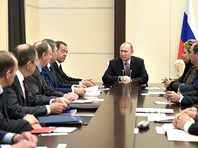 Путин обсудил с членами Совбеза РФ отношения с Америкой