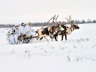 Российских арктических стрелков научили управлять оленьими и собачьими упряжками (ФОТО)
