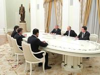 """Путин встретился в Кремле с зарубежными покупателями акций """"Роснефти"""""""