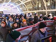 Как заявил один из организаторов акции Лев Пономарев, в шествии приняли участие свыше 500 человек