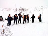 Рядом с местом схода лавины в Хибинах проводились взрывные работы