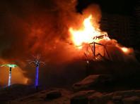 Крупный пожар в Москве: на северо-востоке столицы сгорела гостиница-ресторан