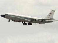Стратегический разведывательный самолет ВВС США RC-135W подлетел к государственным границам России в районе Балтийского моря для осуществления радиотехнической разведки