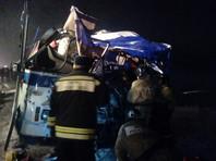 На Чуйском тракте в Алтайском крае произошло ДТП: три человека погибли, более 20 госпитализированы