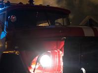 Мощный пожар вспыхнул в крупном торговом центре в Орле (ВИДЕО)