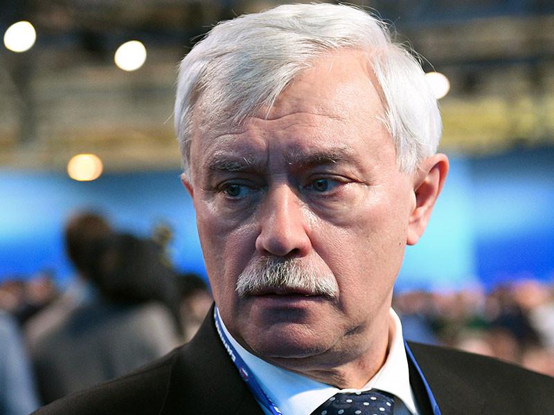 В Петербурге на митинге против передачи Исаакиевского собора РПЦ потребовали отставки губернатора города Георгия Полтавченко
