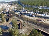 В Забайкалье с рельсов сошли 25 вагонов с углем, задержано три пассажирских поезда