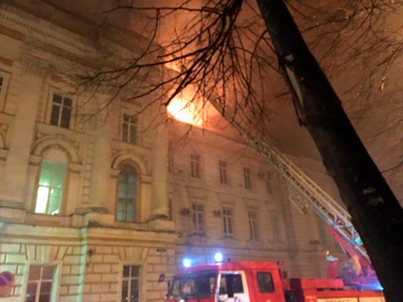 Следственный комитет начал доследственную проверку по факту пожара в детской больнице в Твери