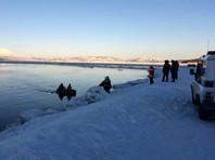 На Камчатке спасли школьника, которого на льдине уносило в океан