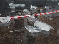 В Тульской области упавшим с крыши куском льда убило женщину