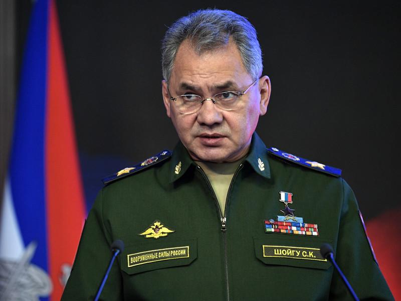 Министра обороны РФ Сергей Шойгу