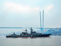 Флагман Тихоокеанского флота РФ, участвовавший в операции в Сирии, вышел в море на учения