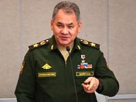 Министр обороны РФ Сергей Шойгу на пленарном заседании Государственной думы РФ