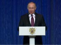 Путин: Россия продолжит укреплять Вооруженные силы