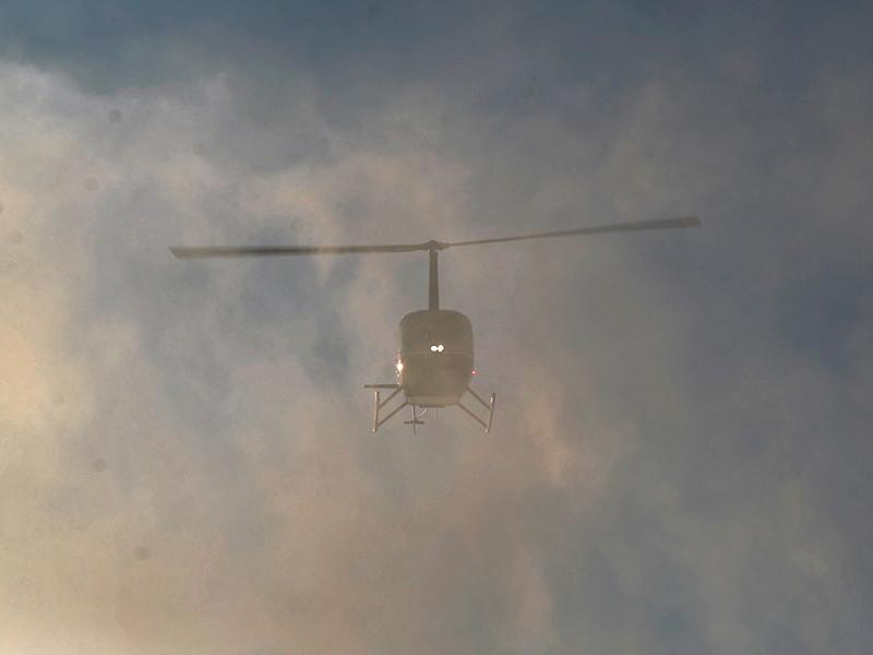 В Республике Алтай разбился вертолет марки Robinson, на борту которого находились не менее пяти человек