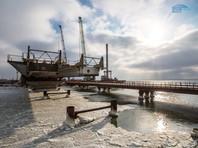 Началось сооружение морских пролетов Керченского моста (ВИДЕО)
