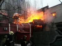 Во время ЧП произошло обрушение металлических конструкций на площади 800 кв. м